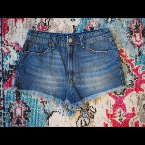 Urban Outfitters BDG Super High Rise Cheeky Shorts
